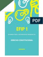 Derecho Constitucional -Efip i