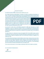 Edc Request Letter
