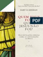 Quem Jesus Foi - Quem Jesus não Foi - Bart D. Ehman.pdf
