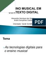 Ensino musical em contexto digital