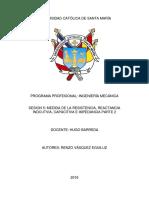 Medida de La Resistencia, Reactancia Indcutvia, Capacitiva e Impedancia