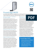 Dell PowerEdge M630 Spec Sheet ES-XL HR