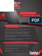 Manual Thinkpad Edge E430