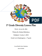diversity lesson plan artifact