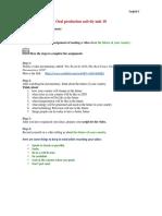 E5 Oral Production Activity Unit 10(1) (1)