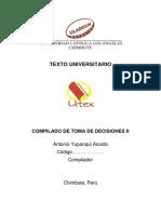 TOMA DE DECISIONES II