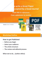 How to Write a Good Journal
