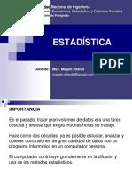 Estadística para proyectos