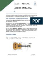 Clase 01 Guitarra