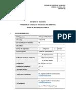 Analisis Estructural II GA 2019 I