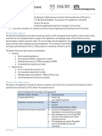 Self-Service Database SLA