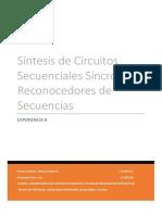 Sintesis de circuitos secuenciales sincronos
