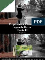 Henry Camino - Propiedades y Usos Del Agua de Lluvia, Parte II