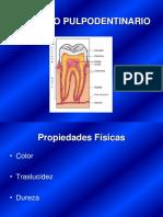 Complejo Pulpo Dentinario Cayo
