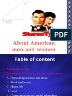 5-1_Stereotype About Men and Women