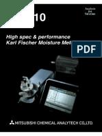 High spec & Performance Karl Fischer Moisture Meter