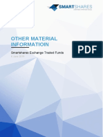 Smartshares Exchange Traded Funds - Other Material Information