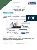 Boletín No.34 Información de Interés ORIs 21.06.19