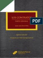 Los Contratos. Parte General - Jorge López Santa MarÍa