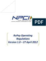 RuPay Operating Regulations 1.0