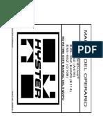 Manual de Operacion E45Z