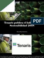 Hocal Pipe Industries - Tenaris Publica El Informe de Sostenibilidad 2018