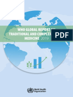 WHO Global Report Traditional & Complementary Medicine 2019