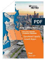 Metro Facilities Master Plan Operational Capacity Report