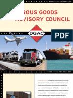 Dangerous Goods Advisory Council Membership Brochure