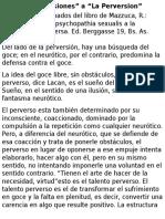 Neurosis y Perversion !!!