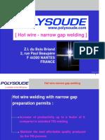 PRES TIG Hot Wire Narrow Gap Welding En