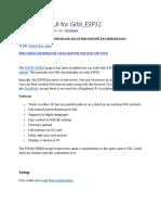 ESP3D Web UI for Grbl