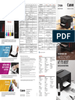 PIXMA G Series Printer _8pp   -Leaflet FA ForWeb