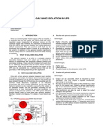 Galvanic Isolation in UPS