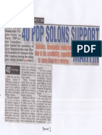 Peoples Tonight, June 27, 2019, 40 PDP solons support Martin Salceda Romualdez endorsed due to his credibility capability to carry Duterte's reforms.pdf