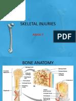 #5 Skeletal Injuries