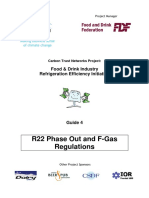 R22 Phase Out and F-Gas Regulations