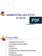 2. Kode Etik Audit