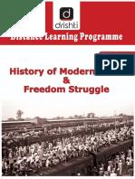 Modern India History & Freedom