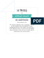 10 Tricks to Appear Smart.docx