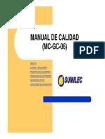 Manual de calidad