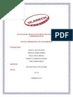 Actividad Nº 03 Informe de Trabajo Colaborativo