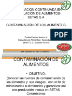 Contaminación y Riesgos