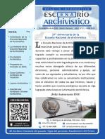 Boletín Escenario Archivístico Nº 1
