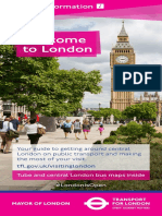 Visitor Leaflet Welcome to London