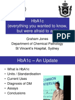 Update on HbA1c-HbA1c and Other Issues