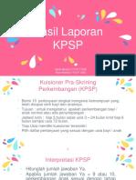 Hasil KPSP