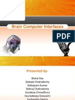 PPt on Brain Computer Interface