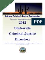 Arizona Criminal Justice Commission 2012 Directory