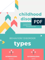 Psychological Disorders in Childhood